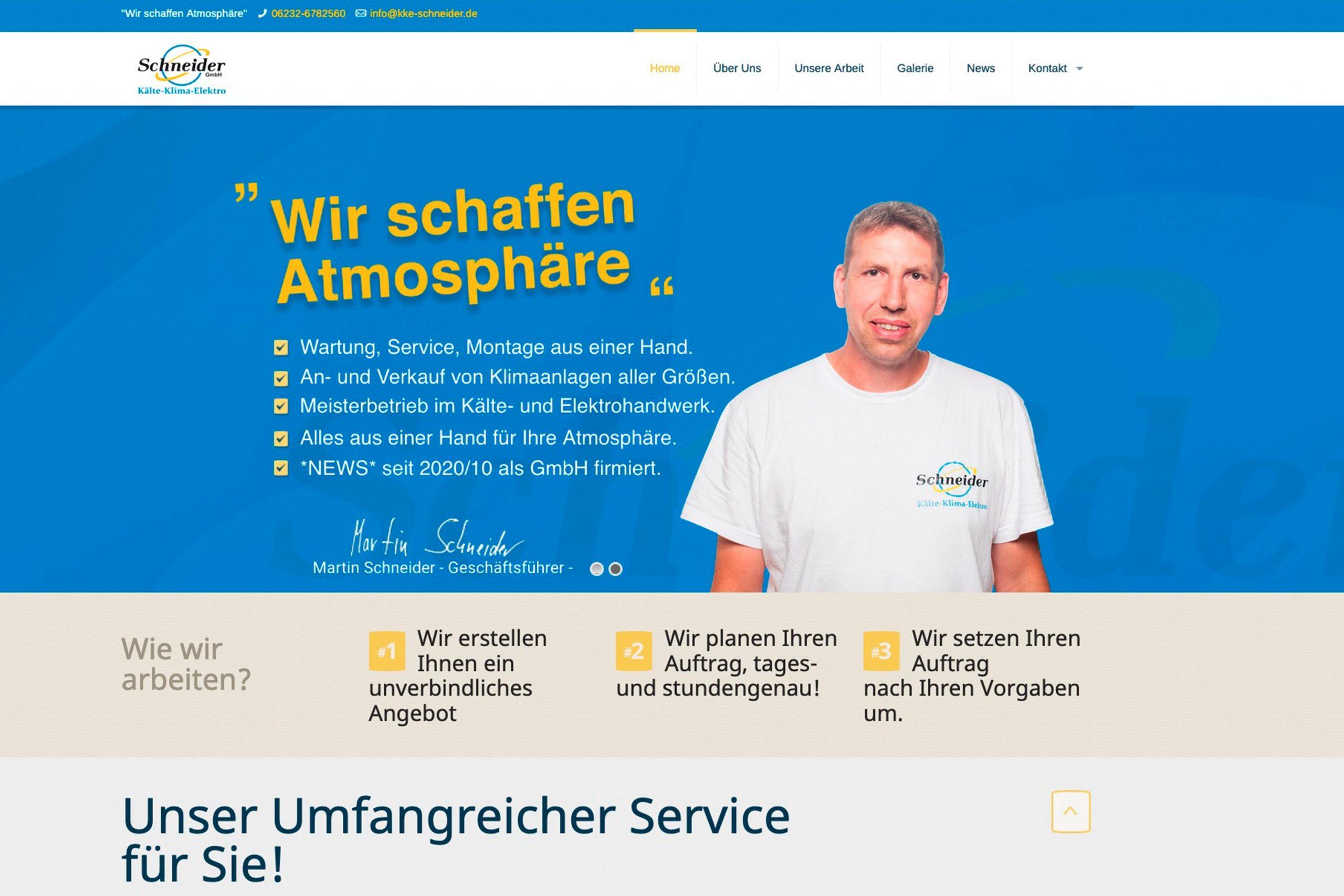 Neue Webseite online.